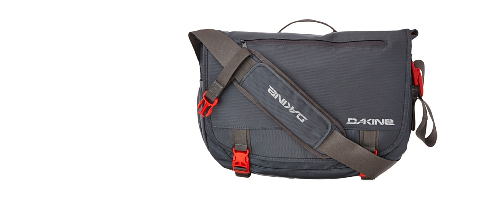 Dakine Messenger Bag, 15 Liter, charcoal
