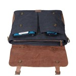 Ecosusi Umhängetasche Messenger Bag open up / Weihnachtsgeschenk - Messenger Bag Teil 1