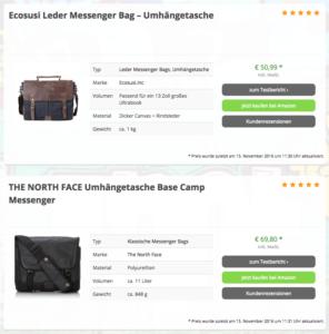 messenger-bags-info-bestenliste / Weihnachtsgeschenk - Messenger Bag Teil 1